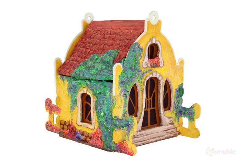 """Вариант раскраски домика-коробочки """"Камилла"""" (2)"""
