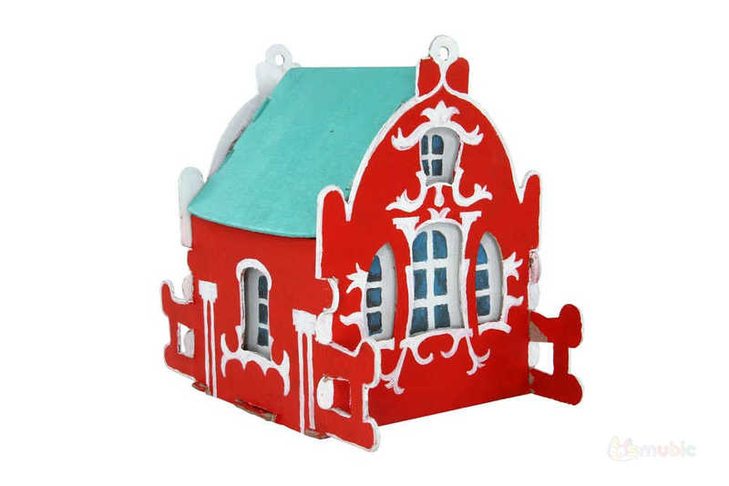 """Вариант раскраски домика-коробочки """"Камилла"""" (3)"""