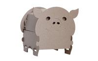 Свинка-Сундучок в пакете с европодвесом
