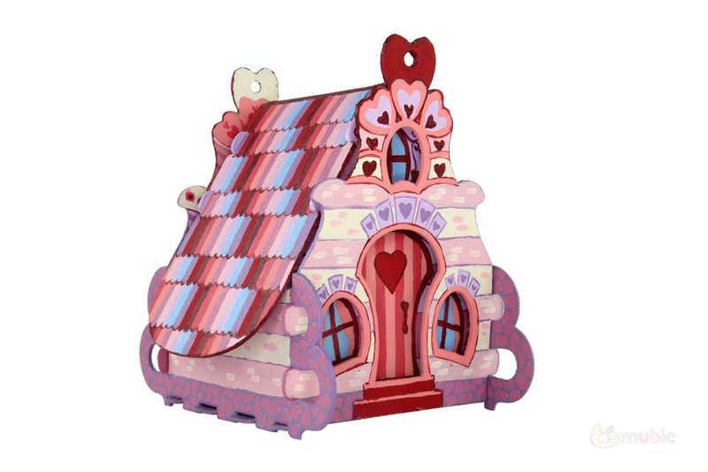 "Вариант раскраски домика-коробочки ""Пион"" (1)"