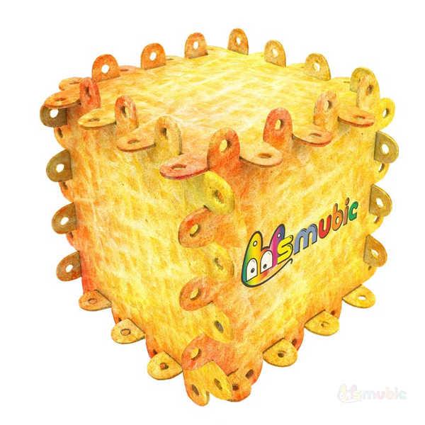 """Вариант раскраски """"Кубики 2"""""""